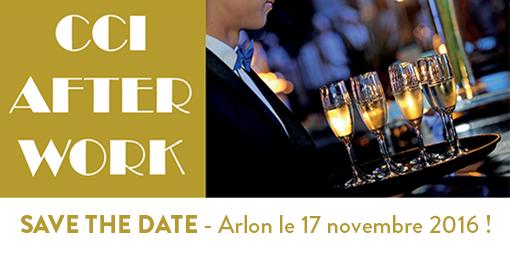 Save the date Afterwork Arlon